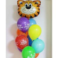 Букет шаров Тигренок на День Рождения