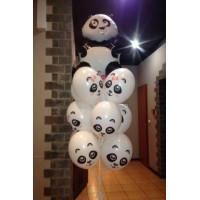Фонтан из шариков Панды