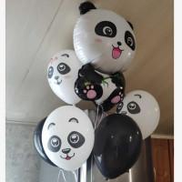 Букет шаров Милая панда