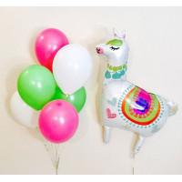 Набор воздушных шаров с Белой Ламой
