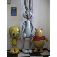 Набор гелевых шариков с мультперсонажами Твитти, Винни Пухом и Багз Банни