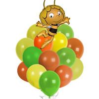 Букет из шаров Пчелка Майа