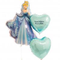 Набор шаров Золушка с двумя сердцами