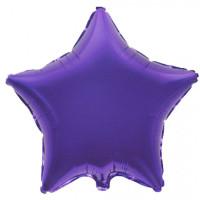Шар-звезда Фиолетовая (45 см)