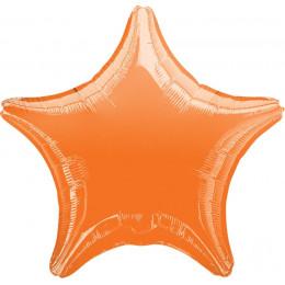 Шар-звезда Оранжевая (45 см)