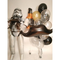 Сет шариков с большой фигурой штурмовика из Star Wars