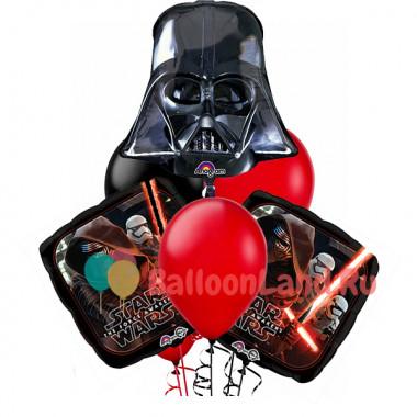 Букет гелиевых шаров Star Wars