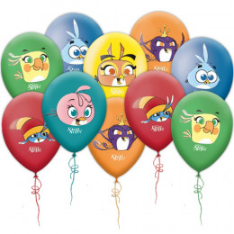 Воздушные шары Angry Birds Stella