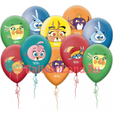 Воздушные шары 'Angry Birds Stella'