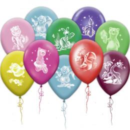 Воздушные шары Веселый зоопарк с животными