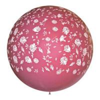 Метровый шар с розами