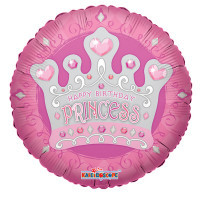 Шар-круг Корона принцессы