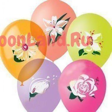 Воздушные шары 'Цветы'