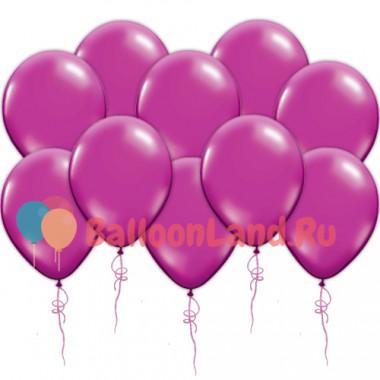 Воздушные шары пурпурные