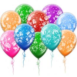 Воздушные шары Волшебные цветы