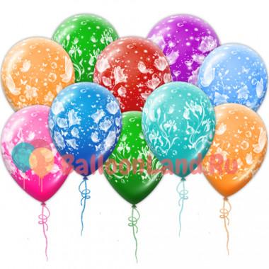 Воздушные шары 'Волшебные цветы'