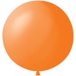 Метровый шар оранжевый