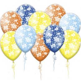 Воздушные шары с цветками сакуры