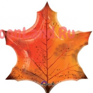 Фигурный шар 'Кленовый лист'