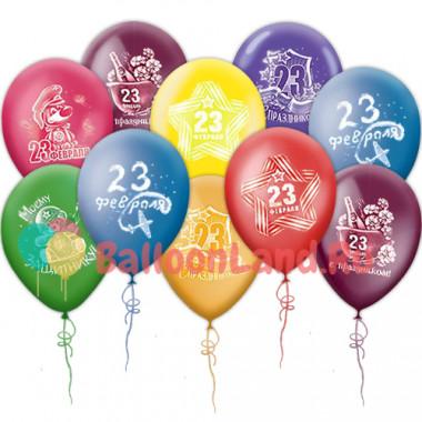 Воздушные шары '23 февраля'