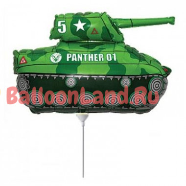 Мини-шар 'Зеленый танк'