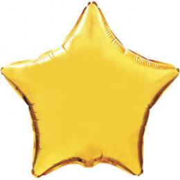 Шар-звезда Золотая (76см)