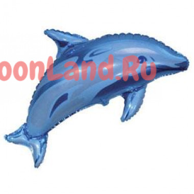 Фигурный шар 'Голубой дельфин'