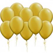 Воздушные шары золотые