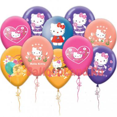 Воздушные шары 'Hello Kitty'