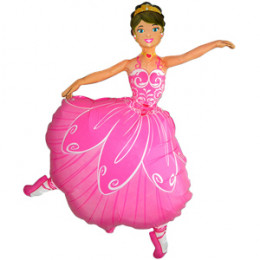 Фигурный шар Балерина