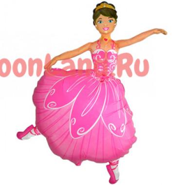 Фигурный шар 'Балерина'