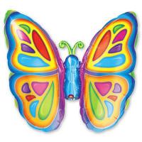 Фигурный шар Бабочка яркая