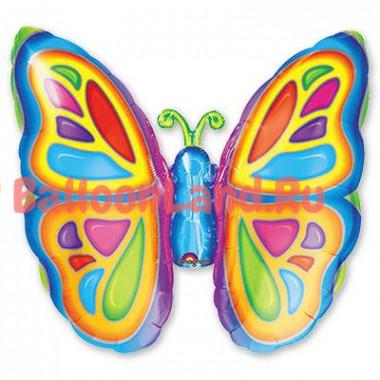 Фигурный шар 'Бабочка яркая'