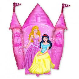 Фигурный шар Розовый замок