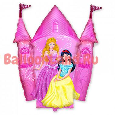 Фигурный шар 'Розовый замок'