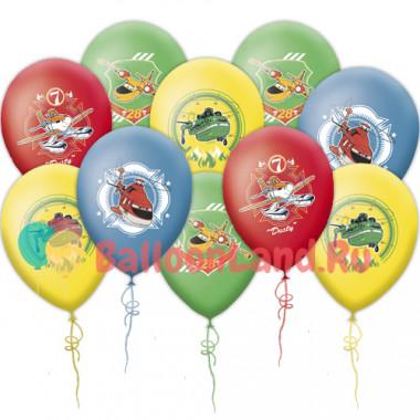 Воздушные шары Самолеты, огонь и вода