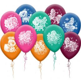 Воздушные шары Принцессы Дисней и питомцы