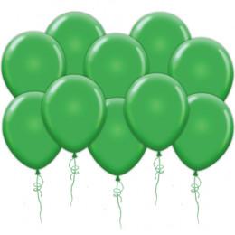 Воздушные шары зеленые