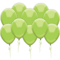 Воздушные шары салатовые