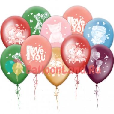 Воздушные шары 'I Love You'
