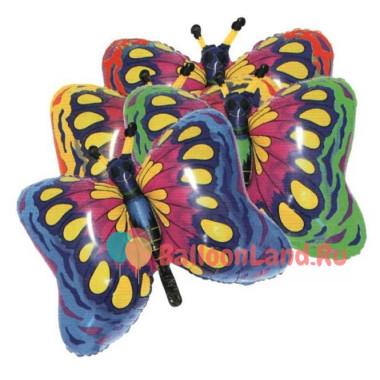 Фигурный шар 'Бабочка малиновая'