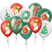 Воздушные шары Новогодняя коллекция
