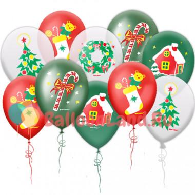 Воздушные шары 'Новогодняя коллекция'