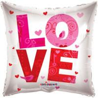 Шар-подушка LOVE