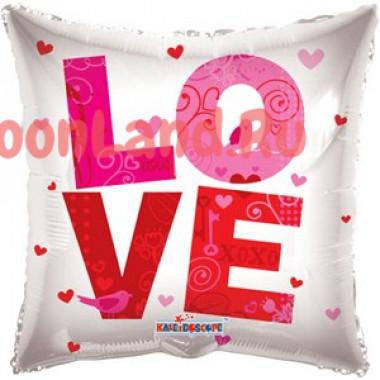 Шар-подушка 'LOVE'