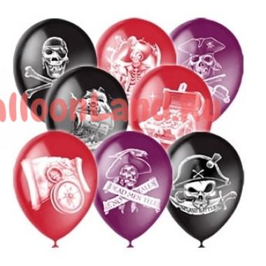 Воздушные шары 'Пиратские'