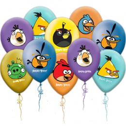 Воздушные шары из латекса Angry Birds