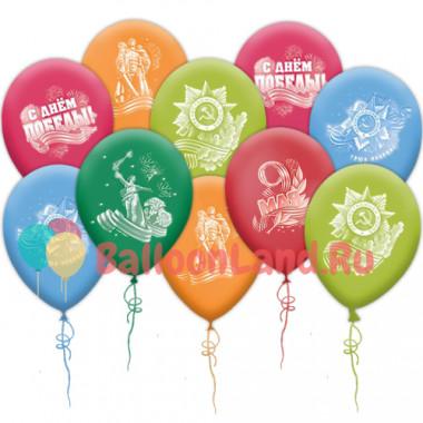Воздушные шары День победы