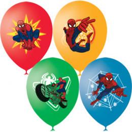 Воздушные шары Человек Паук, цветная печать