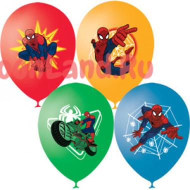 Воздушные шары 'Человек Паук', цветная печать